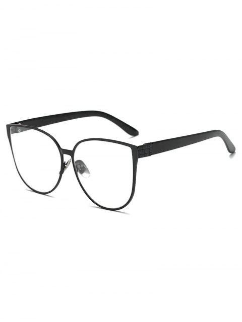 Maxi-Schmetterlings-Sonnenbrille - Schwarz  Mobile