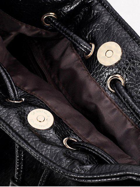 womens Pompon Tassel Furry Bucket Bag -   Mobile