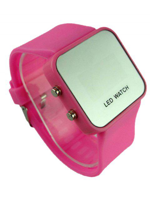 women's LED Silicone Digital Watch -   Mobile