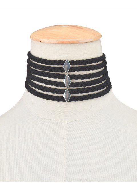new Braid Rope Choker Necklace -   Mobile
