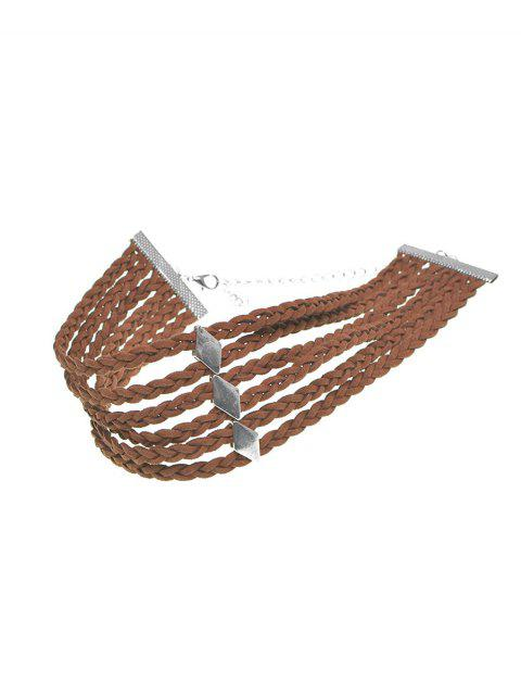 outfit Braid Rope Choker Necklace -   Mobile