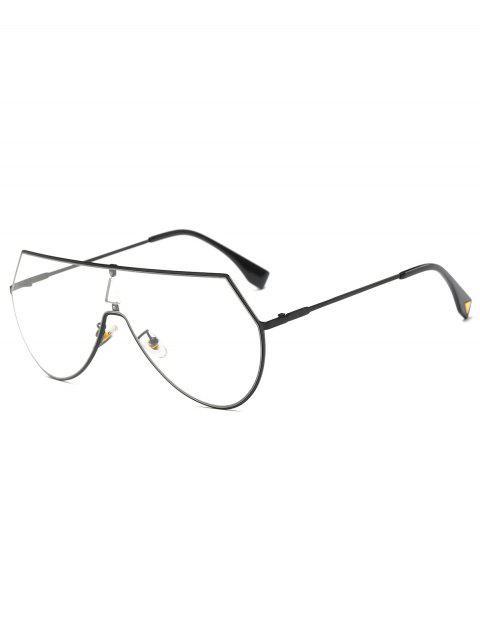 lunette de soleil Transparant Objectif Shield - Noir  Mobile