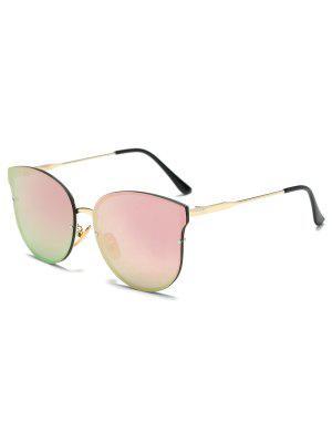 Llantas Completo Con Espejo Gafas De Sol De La Mariposa - Rosa