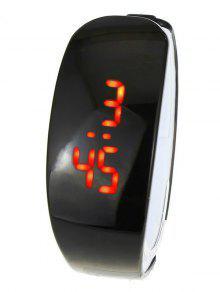 Reloj Digital LED - Negro