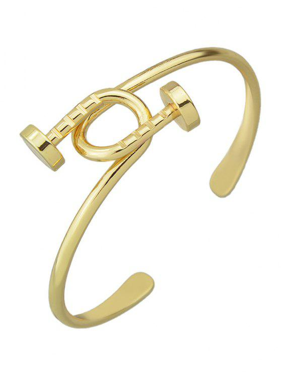 hot Piton Cuff Bracelet - GOLDEN
