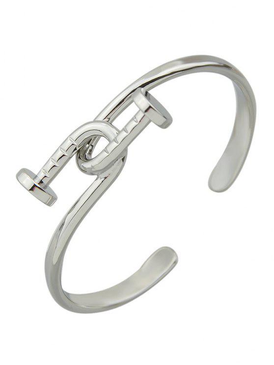 Bracelet piton - Argent