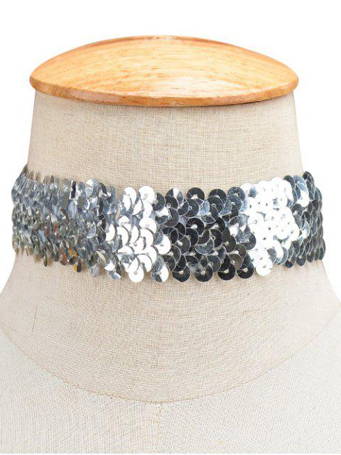 new Sequin Wide Choker -   Mobile