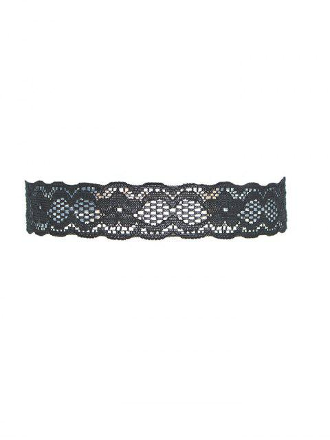 hot Lace Floral Choker -   Mobile