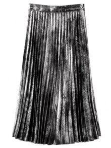 Arreglo Caliente Falda Plisada - Plata L