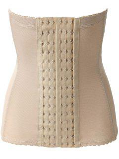 Breathable Hook Waist Trainer - Complexion M