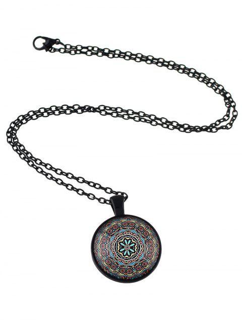 unique Mandala Pendant Necklace -   Mobile