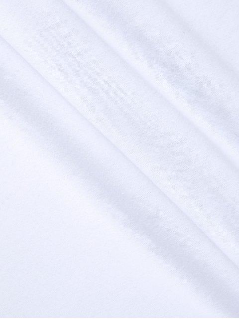 latest Polka Dot Sweatshirt - WHITE S Mobile
