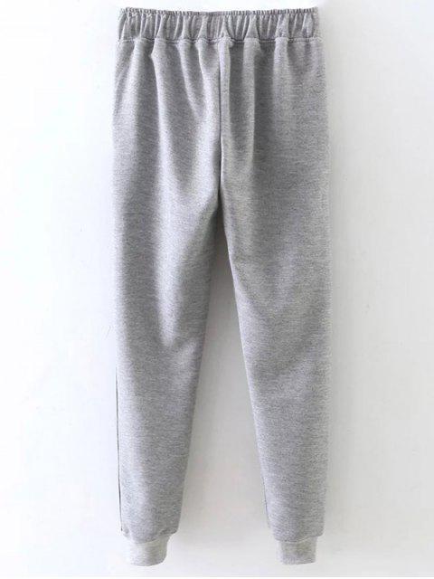 fashion Jogger Drawstring Pants -   Mobile