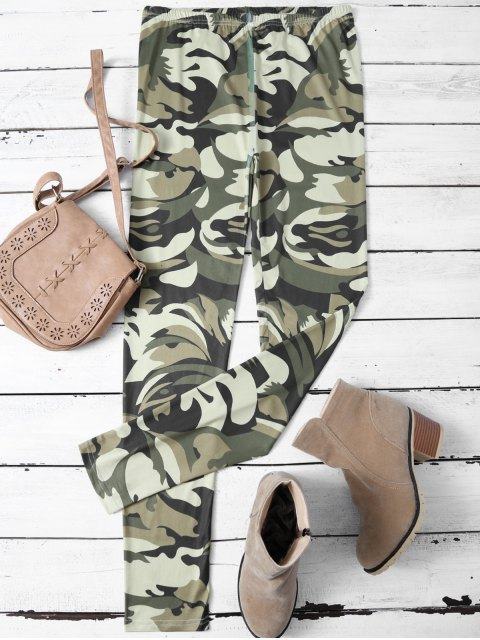 new Camouflage Skinny Leggings - CAMOUFLAGE COLOR M Mobile
