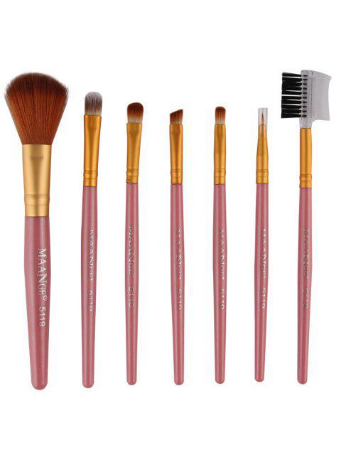 unique 7 Pcs Makeup Brushes Set -   Mobile