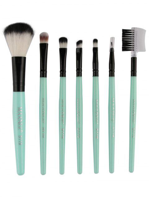 women Fiber Makeup Brushes Set -   Mobile