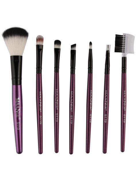 women's Fiber Makeup Brushes Set -   Mobile