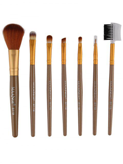 ladies Fiber Makeup Brushes Set -   Mobile