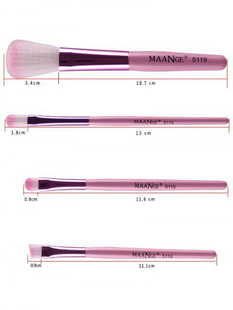 womens Fiber Makeup Brushes Set -   Mobile
