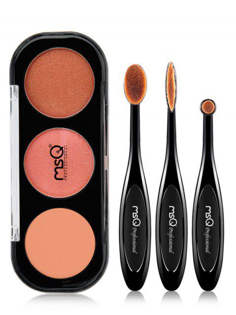 womens Eyeshadow Palette with Eyeshadow Brushes - #04  Mobile