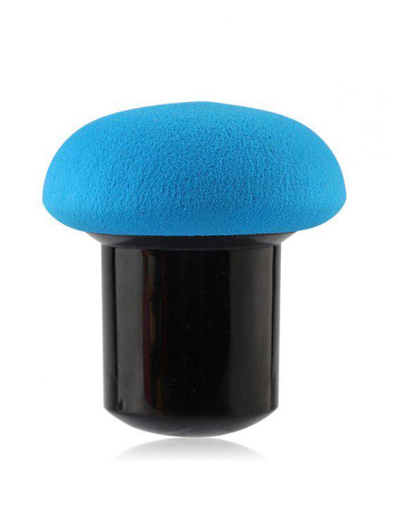 Pinceau éponge hydrophile forme champignon - Bleu