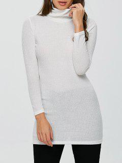 Equipada Cuello Alto Jumper - Blanco S