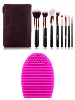 Makeup Brushes Kit With Brush Egg