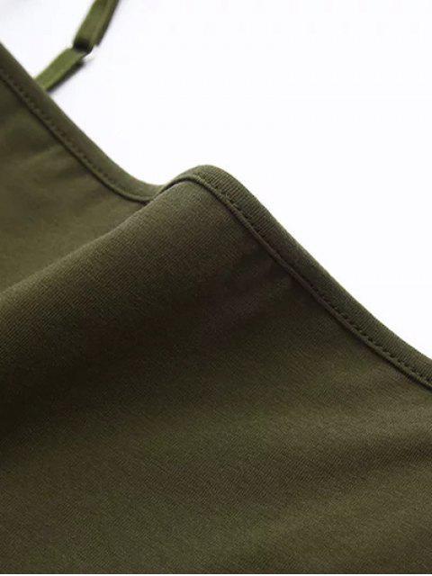 Body à bretelle - Vert Armée S Mobile