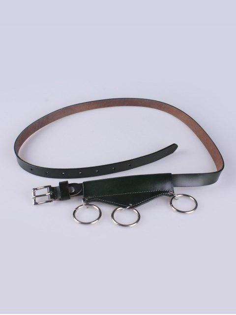 online Faux Leather Waist Belt -   Mobile