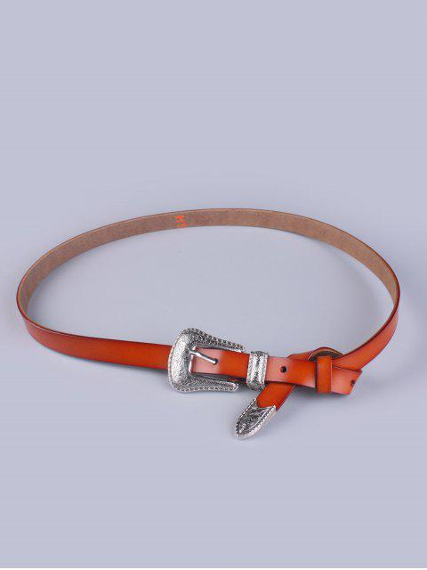 outfits Vintage Pin Buckle Waist Belt -   Mobile