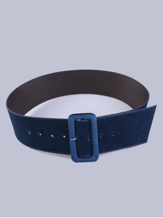 sale Velvet Waist Belt - CADETBLUE