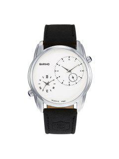 Roman Numerals Vintage Quartz Watch - Silver