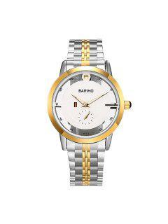 Reloj Retro Cuarzo Acero Inoxidable  - Dorado