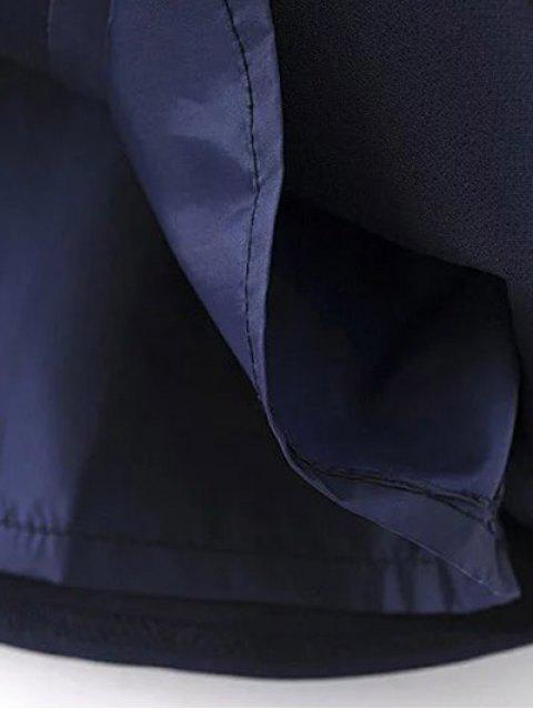 women's Self Tie Wrap Cami Dress - CADETBLUE S Mobile