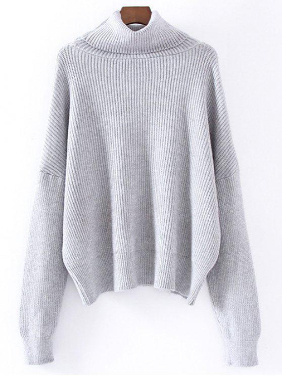 Col roulé Jumper Relaxed - Gris TAILLE MOYENNE