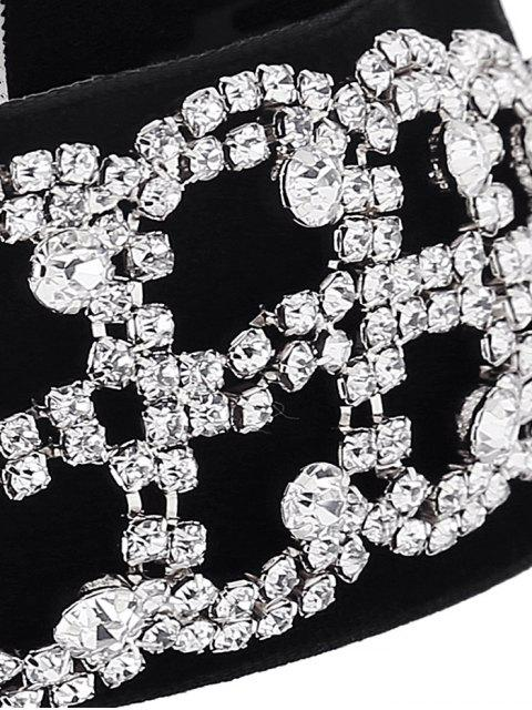 best Rhinestone Flannel Fake Collar Necklace -   Mobile