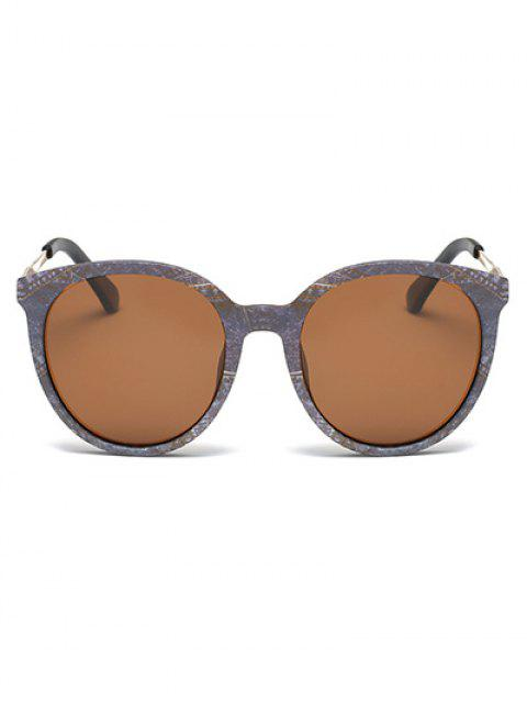 outfits Marble Pattern Cat Eye Sunglasses - GRAY  Mobile