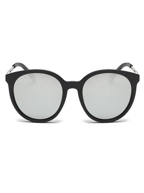 latest Mirrored Cat Eye Sunglasses - SILVER  Mobile