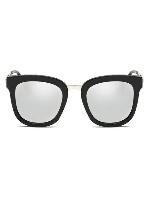 sale Butterfly Frame Mirrored Oversized Sunglasses -   Mobile