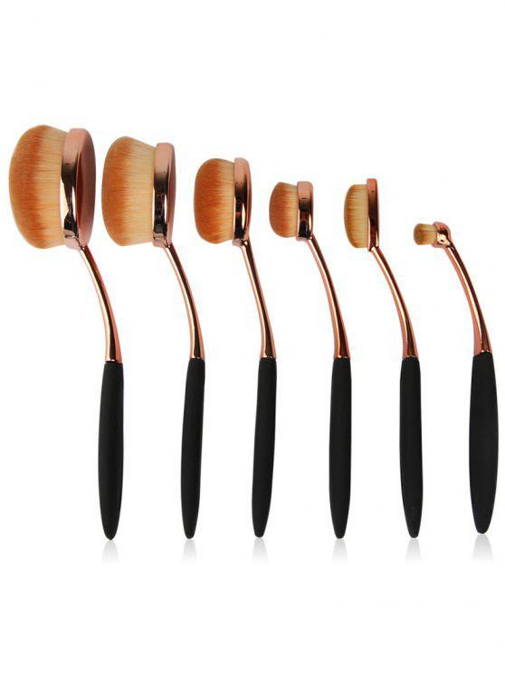 ladies Artist Makeup Brushes Set - ROSE GOLD