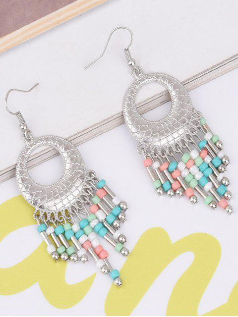 shop Hollow Out Beads Hook Earrings -   Mobile