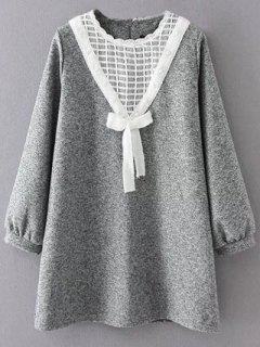 Knit Panel De Revestimiento Tweed Trapecio - Gris Xl