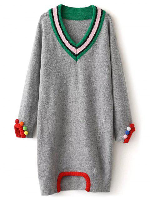 Robe pull - Gris Taille Unique Mobile