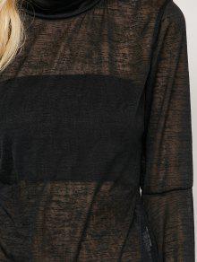 Ver Negro M Por Camiseta De Llamarada La La Manga tw6qPpg
