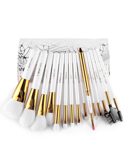 buy Portable Fiber Makeup Brushes Kit -   Mobile