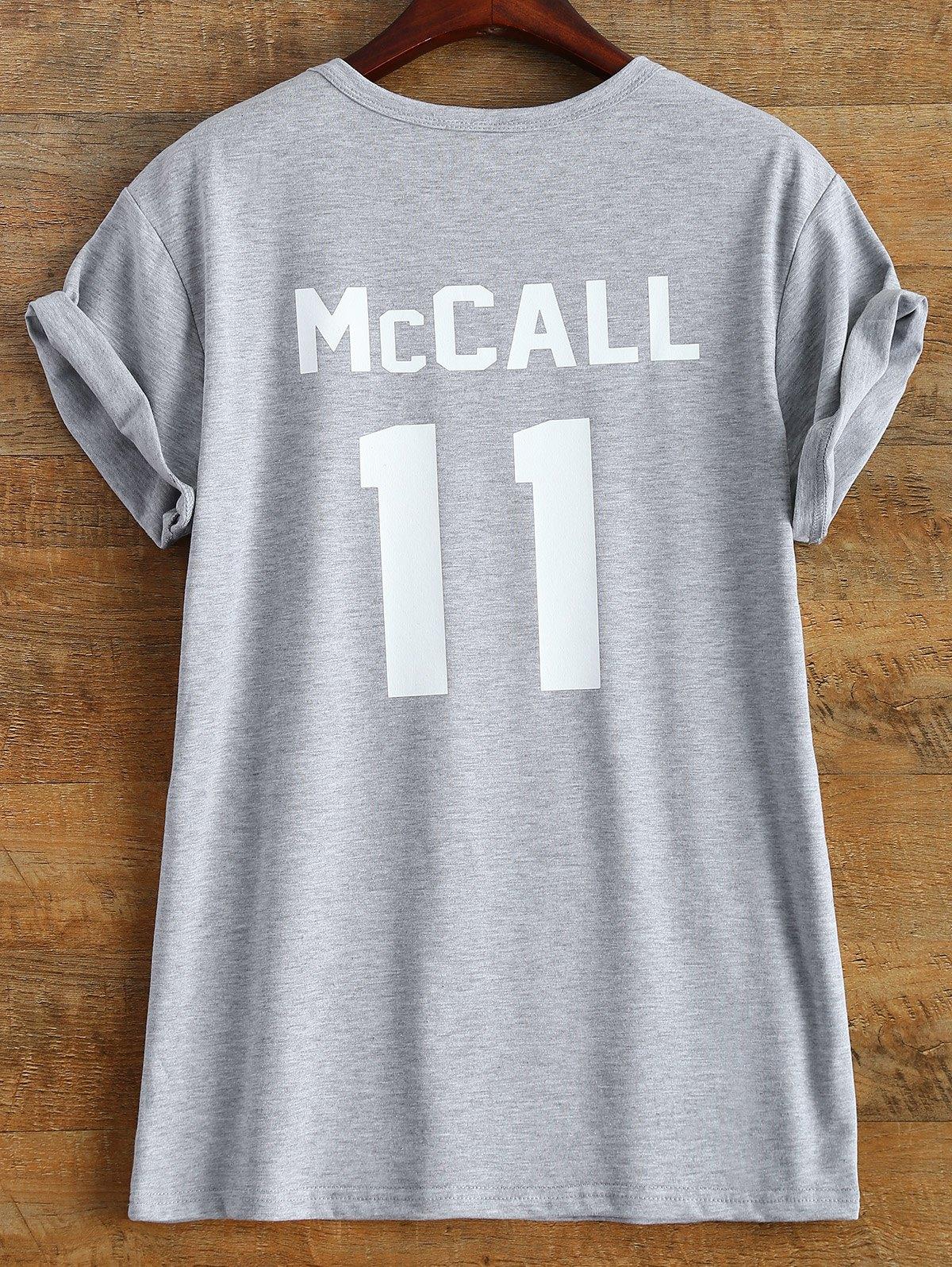 T-Shirt imprimé McCall 11 manches courte