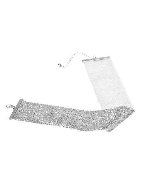 trendy Adorn Velvet Vintage Choker Necklace -   Mobile
