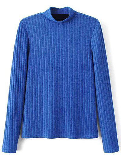 Ribbed High Neck Knitwear 206032801