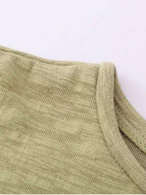 shop Oversized Cotton Sweatshirt - BLACK ONE SIZE Mobile