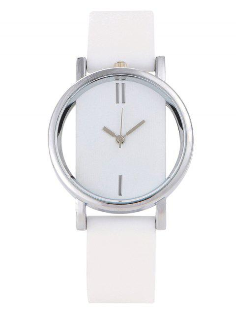 lady Analog Silicone Wrist Watch -   Mobile